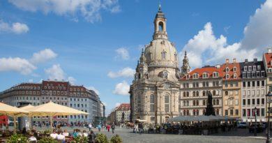 Немецкий город Дрезден